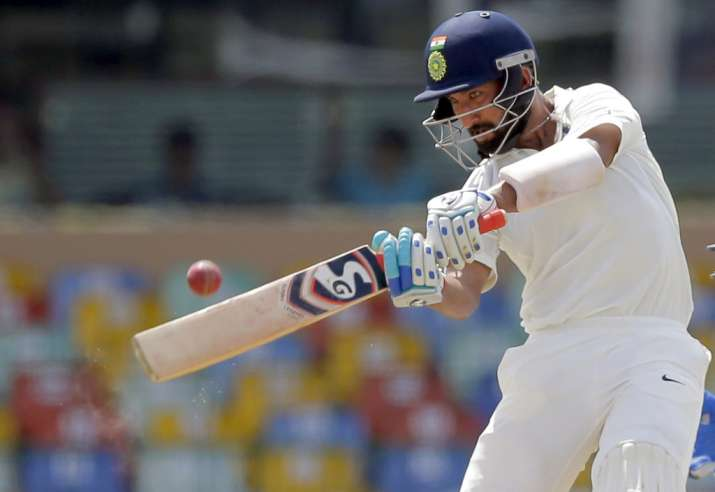 Pujara stands tall against Sri Lankan pace attack