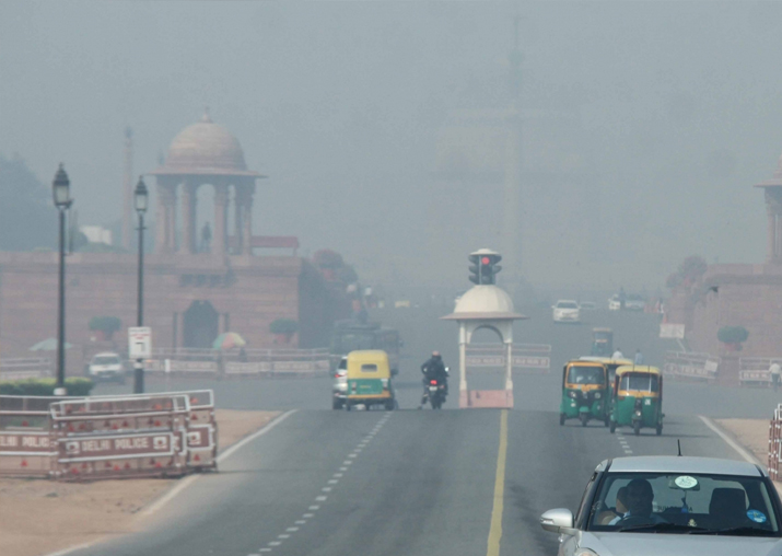 AQI of Delhi-NCR in 'very poor' category