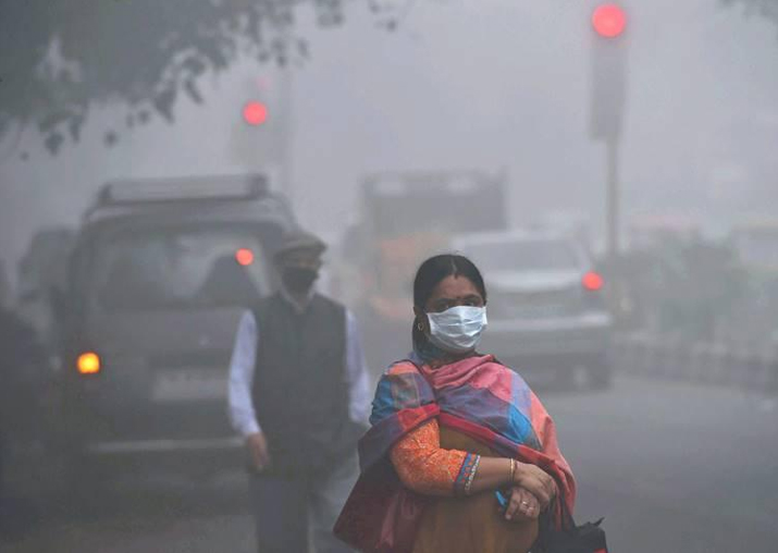 Air pollution rises in Delhi-NCR as stubble burning goes on