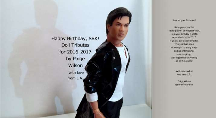 India Tv - Paige Wilson wished Shah Rukh Khan on his 52nd birthday