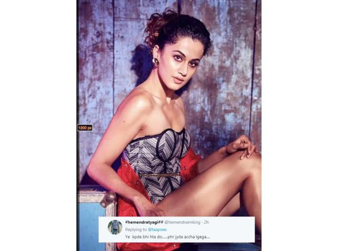 taapsee pannu trolled