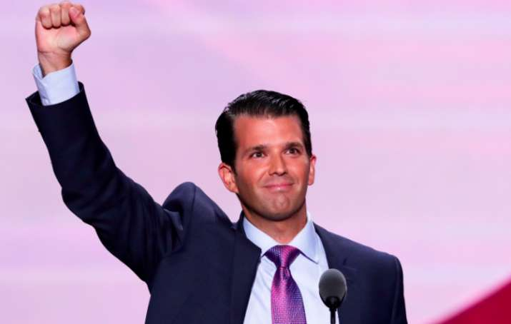 Donald Trump's son communicated with WikiLeaks during