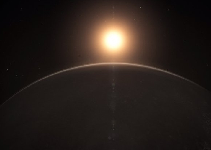 Eleven Light-Years Away, an Earth-Size Planet That May Be Habitable