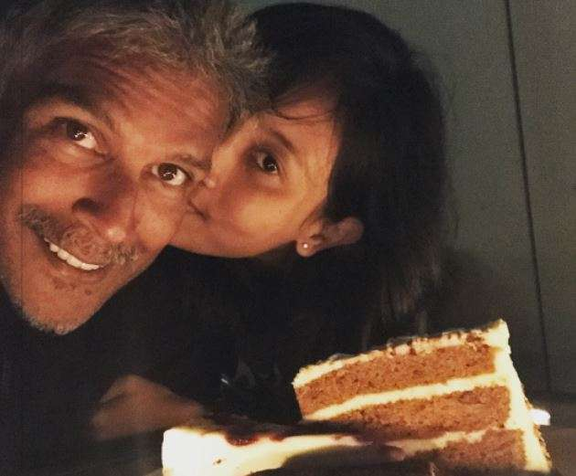 Milind Soman celebrated his 52nd birthday with girlfriend Ankita Konwar. See photos