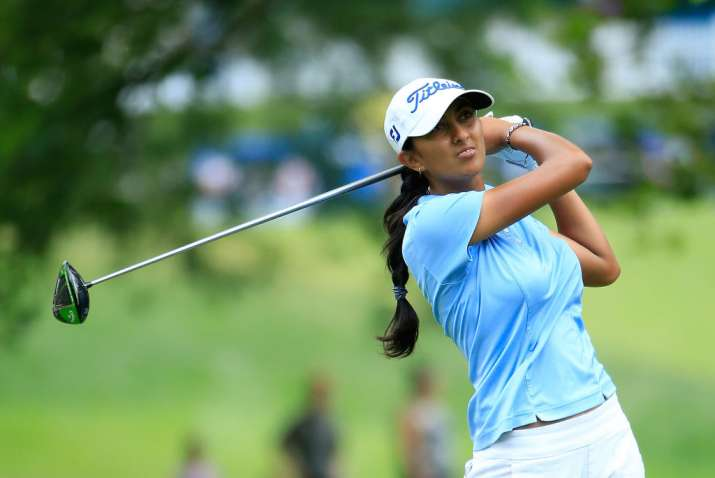 Image result for Aditi is first Indian to qualify for LPGA Tour Championships