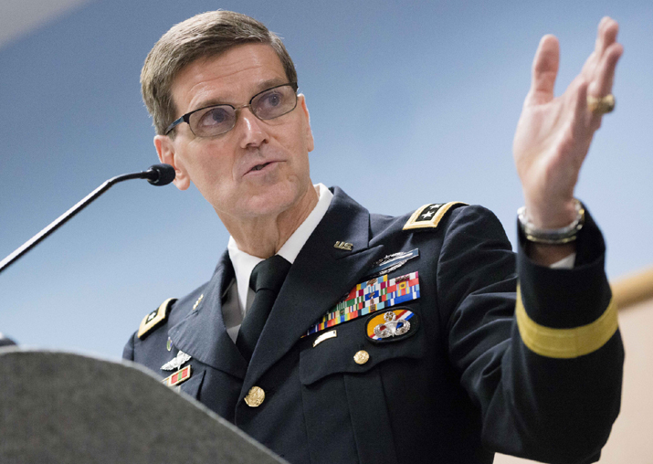 File pic of US Central Command (Centcom) Commander General