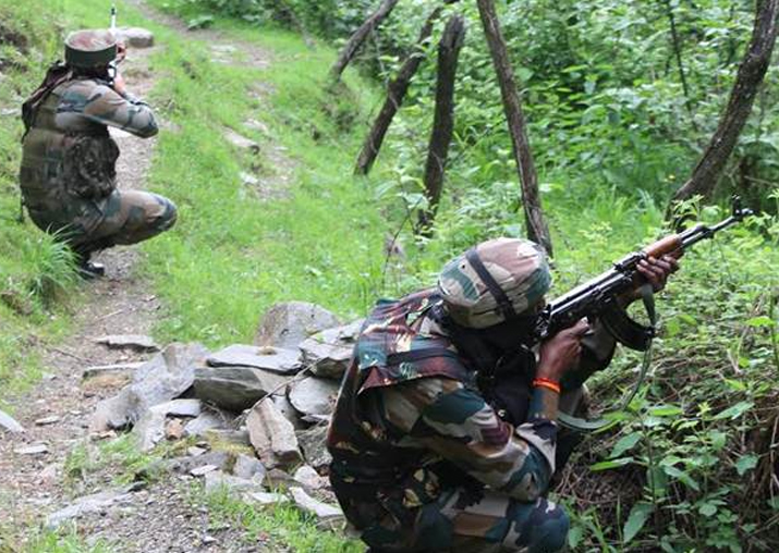 Five terrorists killed in an encounter in J&K
