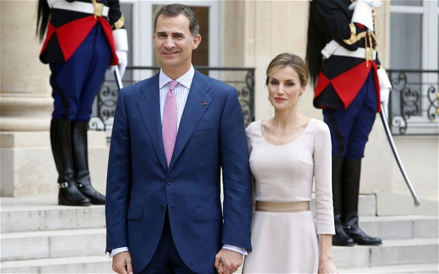 India Tv - Spain's King Felipe VI and Queen Letizia