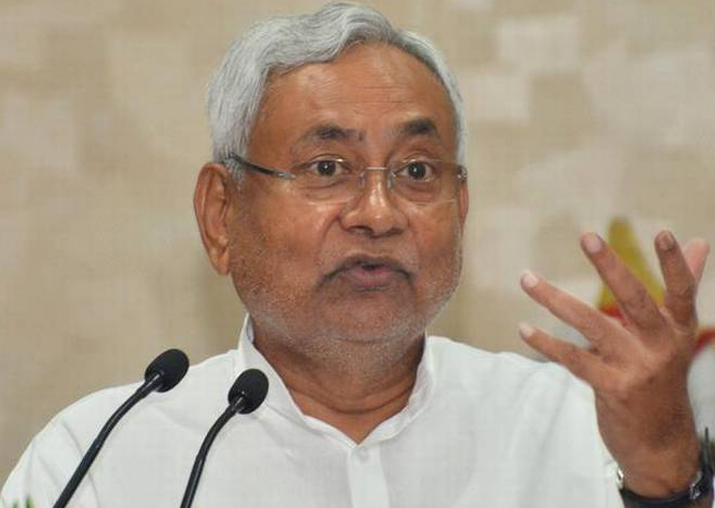File pic of Bihar CM Nitish Kumar