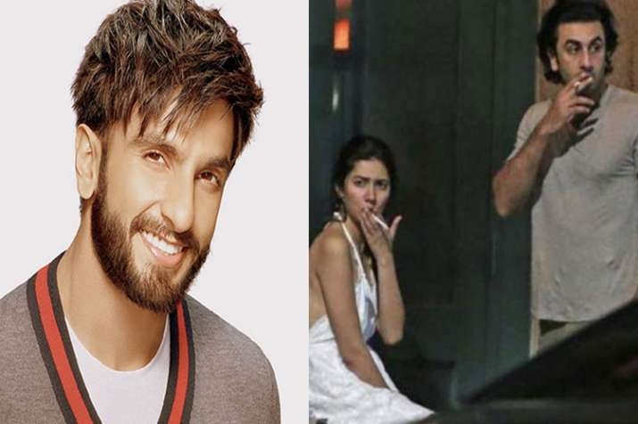 Ranveer Singh opens up about Ranbir-Mahira's picture fiasco