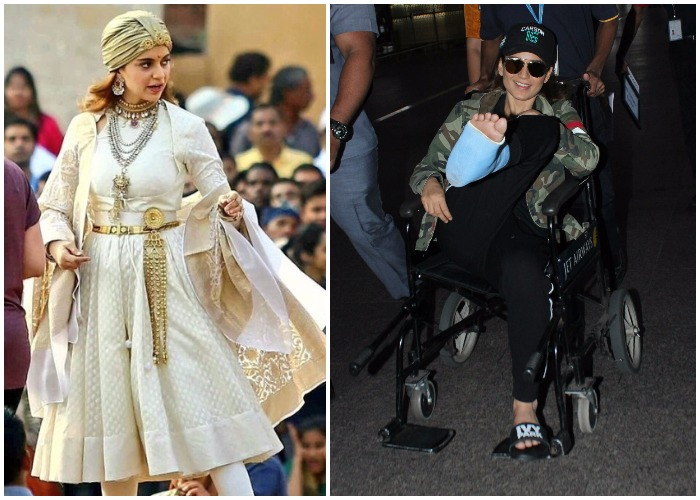 Kangana Ranaut injured on the sets of 'Manikarnika…' in Jodhpur