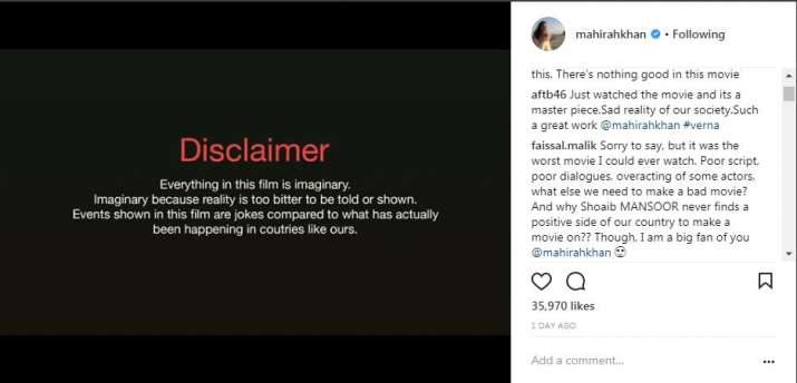 India Tv - People on Instagram accused Shoaib Mansoor for never making a positive film on Pakistan