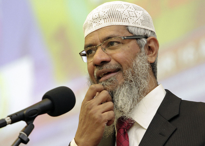 India to seek Zakir Naik's extradition from Malaysia