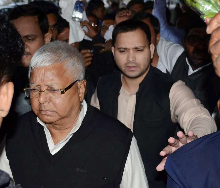Lalu Prasad arrives at CBI court, says 'have faith in judiciary'