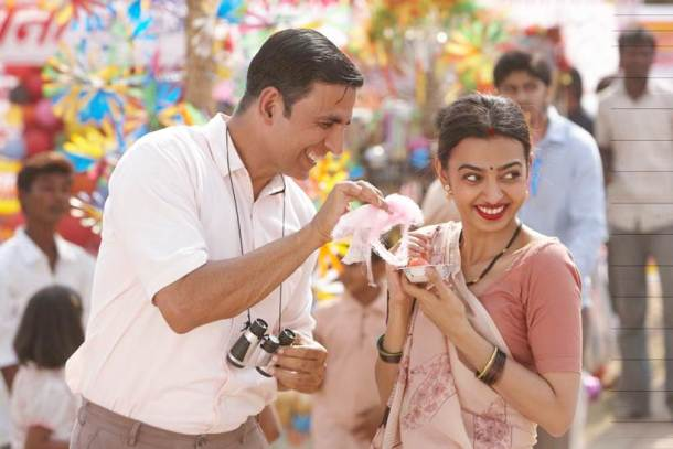 Akshay Kumar and Radhika Apte launch Padman's first song in Mumbai