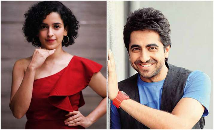 Dangal girl Sanya Malhotra and Ayushmman do romance in