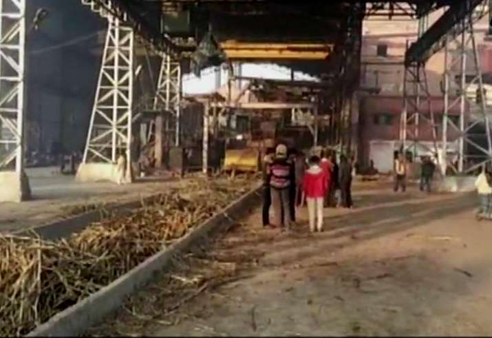 Boiler blast at Bihar sugar mill kills six workers; mill owner held