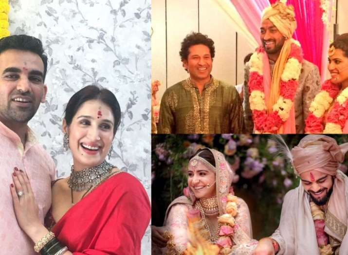 wedding bells virat kohli and other cricketers who tied