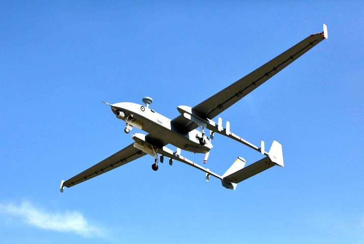 Rogue Indian UAV crashlands in China