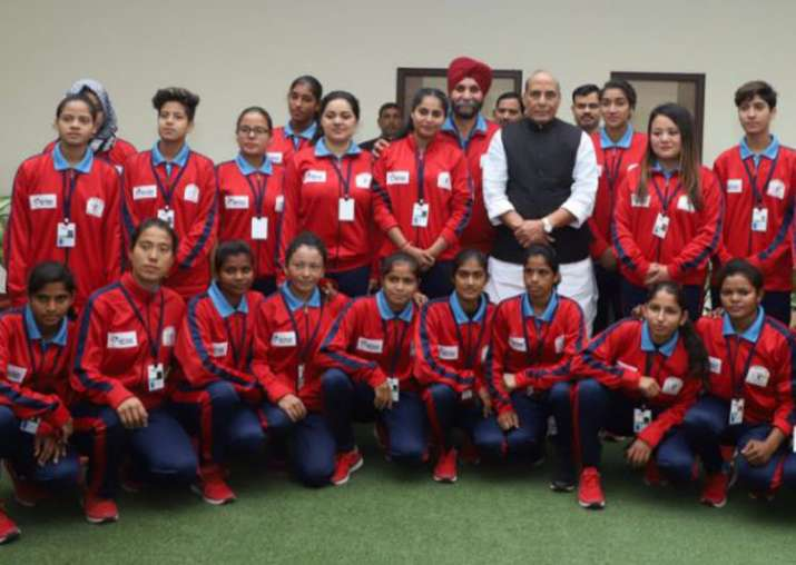 J&K's Women Football Team