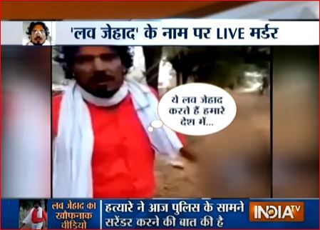 One of the videos shot after the murder shows Regar warning