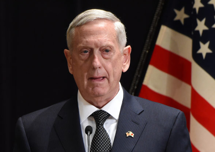 Mattis heads to Middle East, Africa
