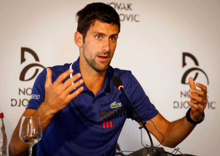 Injury hell over for Djokovic