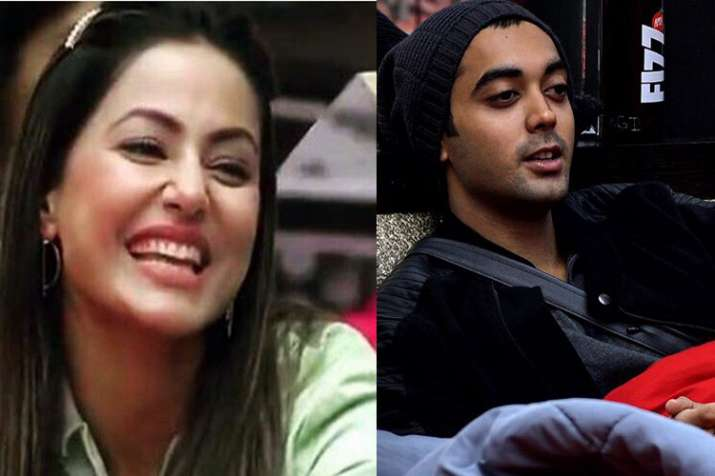 Priyank Sharma, Hina Khan Go ROFL. Courtesy Luv Tyagi