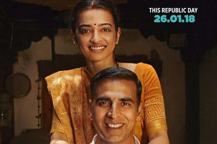 Akshay Kumar and Radhika Apte, Happy Couple in Padman