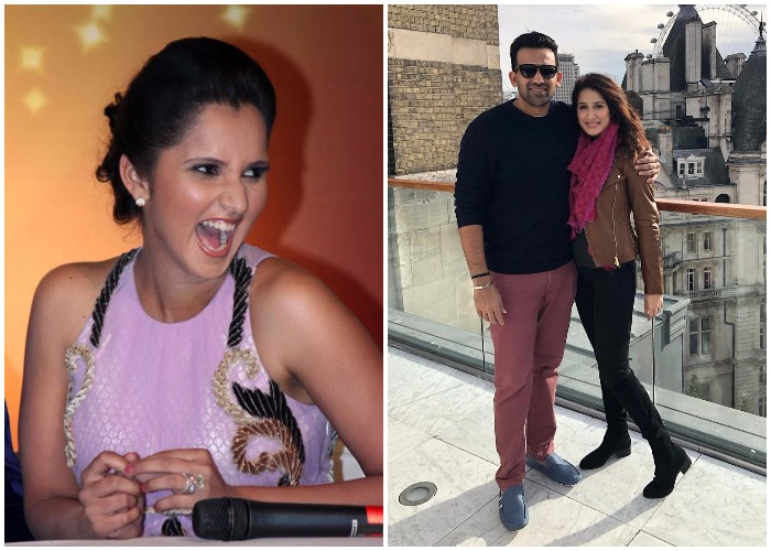 Honeymoon pics! Zaheer Khan-Sagarika Ghatge chilling in Maldives