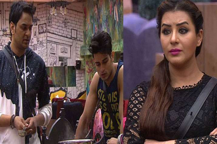 Bigg Boss 11: Priyank Sharma Fights With Hina Khan For Vikas Gupta