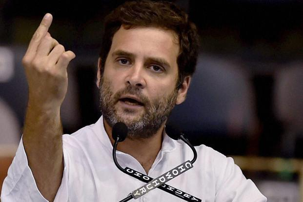 Rahul Gandhi alleged that farmers did not get right prices