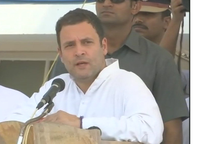 Rahul Gandhi visits areas hit by cyclone Ockhi in Kerala