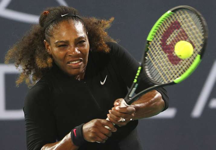 Serena lights up Abu Dhabi with return, despite loss