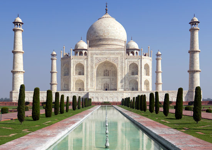 File pic of Taj Mahal