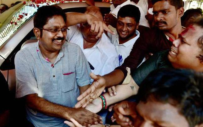 AIADMK Sacks Six TTV Dhinakaran Loyalists After RK Nagar Bypoll Defeat