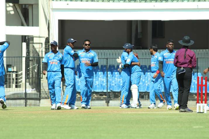 India thrash Pakistan by 7 wickets