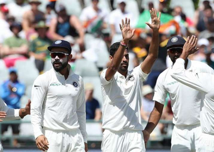 India v South Africa, 2nd Test: Mohammed Shami reaches 100 Test wickets