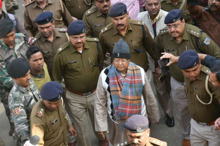 Lalu, family cry conspiracy post fodder scam sentence