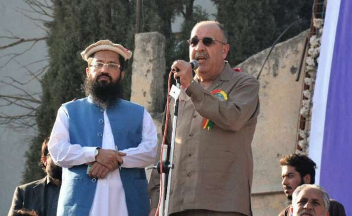 Palestine reinstates ambassador recalled for sharing stage with Hafiz Saeed