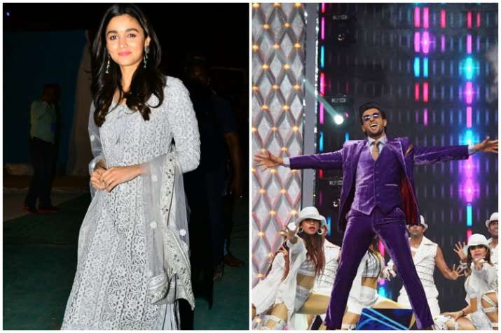 Alia Bhatt and Ranveer Singh shoot for Gully Boy in slums