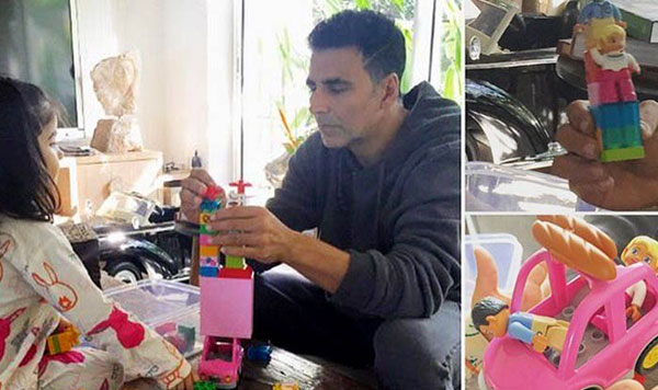 Akshay Kumar's special message for wife & daughter will ...