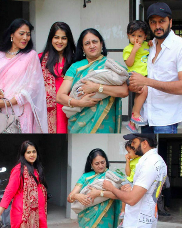 Fotos - Couple Riteish...