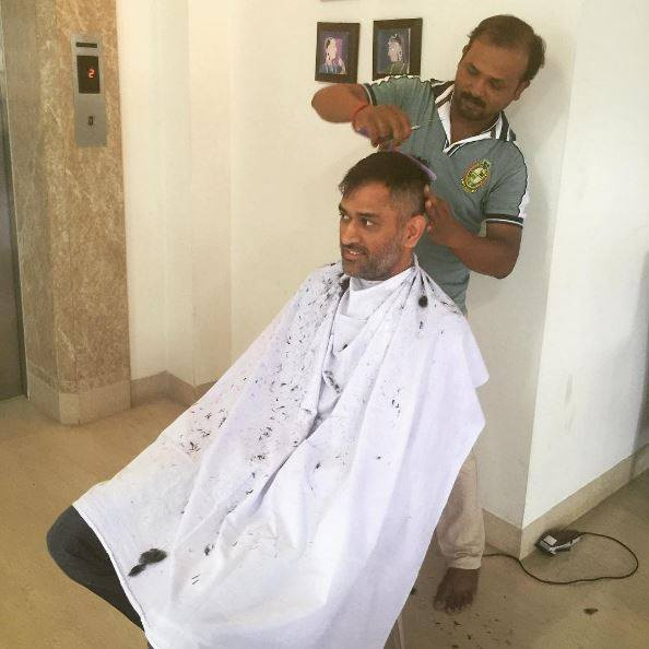 'Captain Cool' Dhoni gets a new hairdo. Read why fans are ...