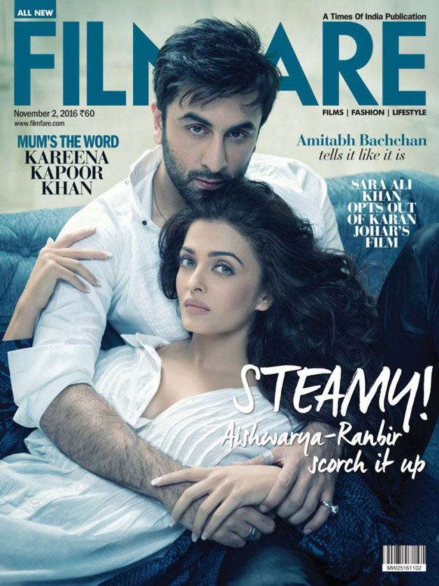 India Tv - Ranbir Kapoor Aishwarya Rai filmfare photoshoot