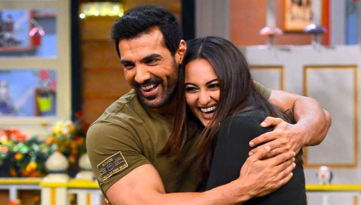 India Tv - John Abraham and Sonakshi Sinha