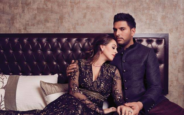 India Tv - Yuvraj Singh and Hazel Keech
