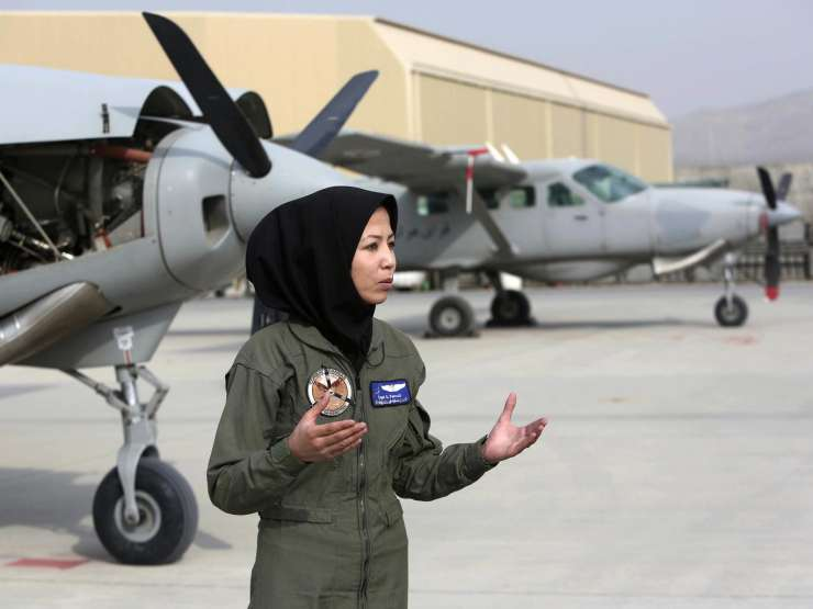 Meet Afghanistan's second female pilot who was once a refugee