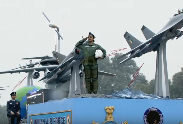 Indian Air Force tableau
