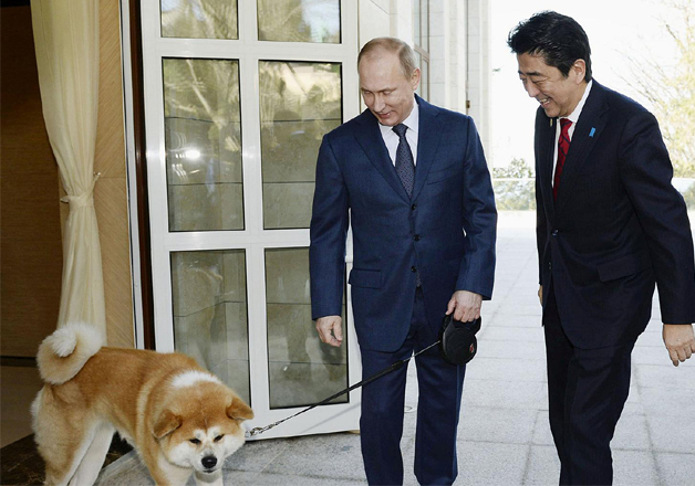 India TV - Vladimir Putin had to decline a gift from his Japanese counterpart